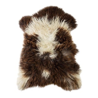 "Contemporary Hand-Tanned Sheepskin Pelt Rug - 2'2""x3'2"" For Sale"
