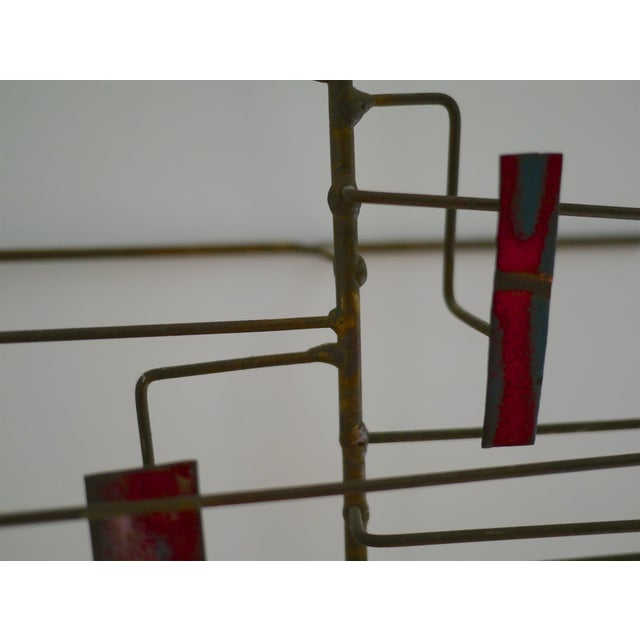 Copper Abstract Copper Sculpture in the Manner of Harry Bertoia For Sale - Image 7 of 11