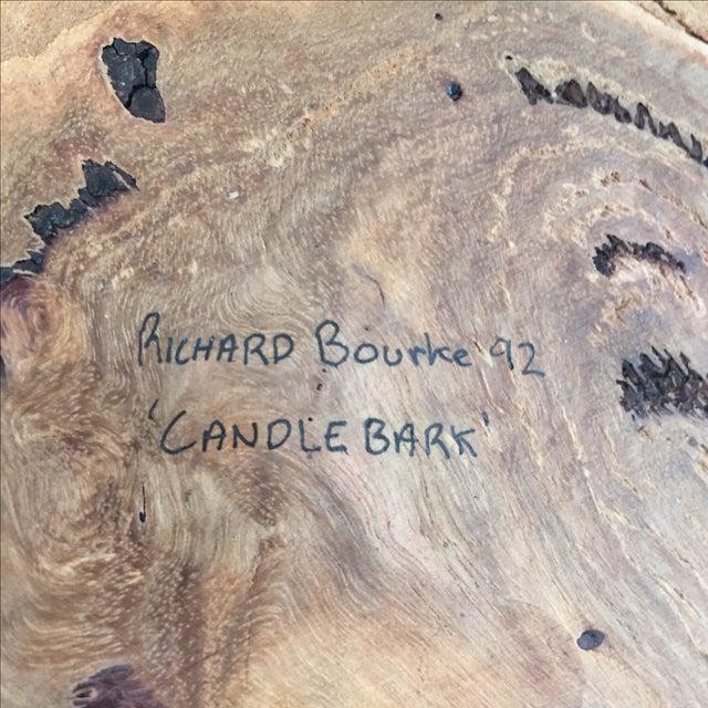 Handmade Burl Wood Dish - Image 6 of 6