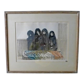 """La Gloire"" 1915 Théophile-Alexandre Steinlen Lithograph With Original Mark For Sale"
