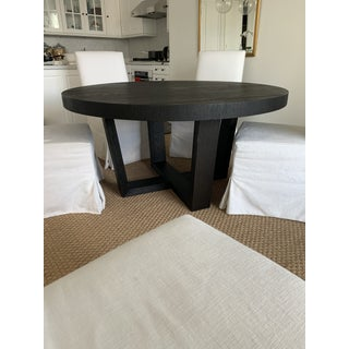 Transitional Restoration Hardware Dining Table Set - 6 Pieces Preview