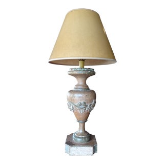 Italian 19th Century Pair of Lamps For Sale