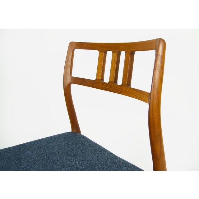Teak Niels O. Møller Teak Model 79 Dining Chairs - Set of 4 For Sale - Image 7 of 12