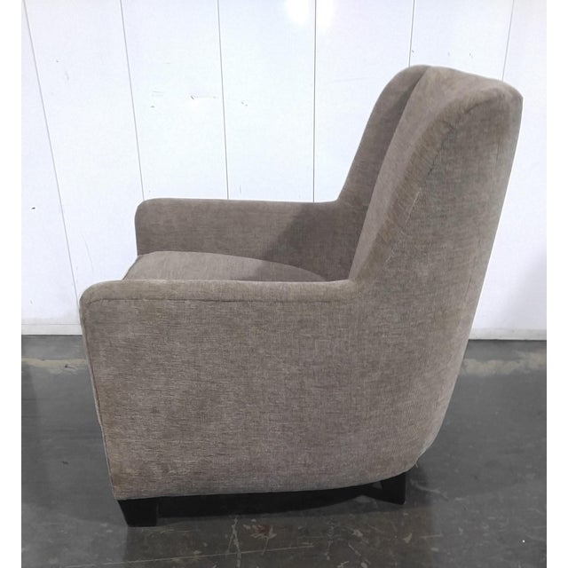 Mid-Century Modern Custom Mid Century Design Lounge Chair For Sale - Image 3 of 10