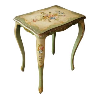 Early 20th Century Venetian Painted Table For Sale
