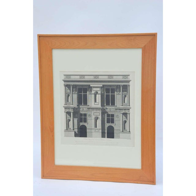 Set of Three Early 19th Century Architectural Prints by Louis-Pierre Baltard De La Fresque For Sale - Image 4 of 4