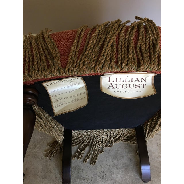 """Lillian August """"Carlyle"""" Chairs - Set of 4 For Sale - Image 9 of 10"""