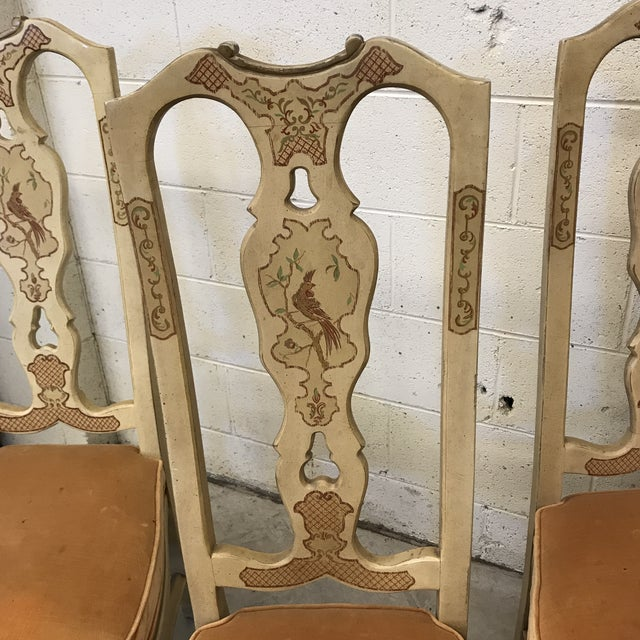 Drexel Heritage Drexel Heritage Chinese Chippendale Dining Chairs For Sale - Image 4 of 13