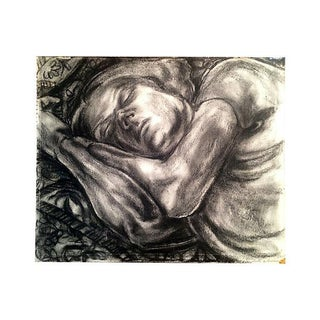 Drawing of Woman Sleeping by Austin Weiner 1938