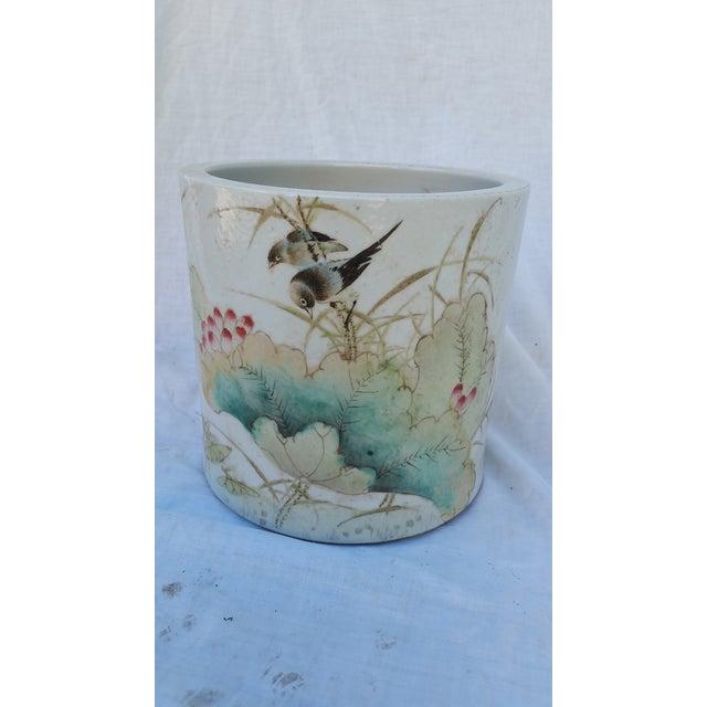 Vintage Chinese Bird Jardinaire - Image 2 of 5