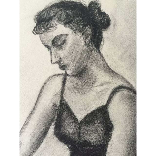 Figurative 1949 Drawing Ballerina by Costello For Sale - Image 3 of 5