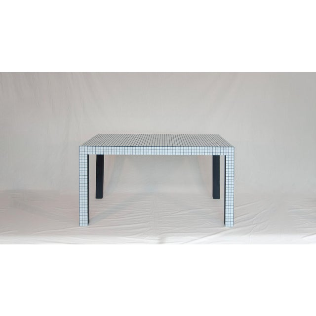 Mid-Century Modern Superstudio ™ / Origin Collection 2020 - Shop Table - Ashen White For Sale - Image 3 of 9