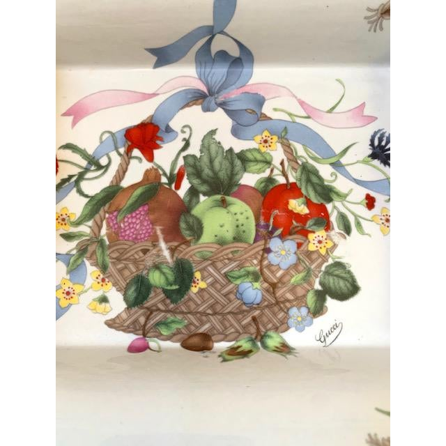 Gucci Gucci Bouquet Ashtray/ Catchall For Sale - Image 4 of 8