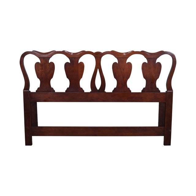 Statton Solid Cherry Queen Size Headboard - Image 1 of 10