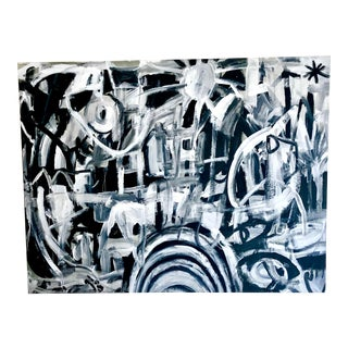 Large Abstract Expressionist Original Painting For Sale