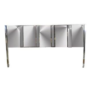 Mirrored King Size Headboard