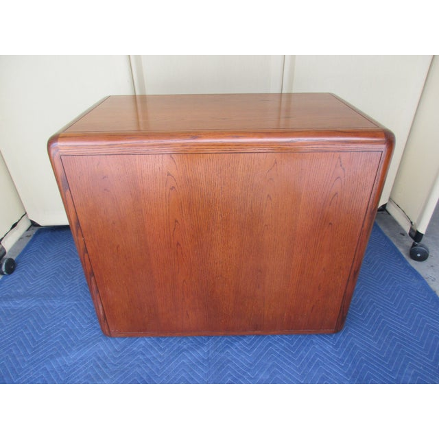 Herman Miller Mid-Century Modern 3-Drawer File or Storage Cabinet With Rounded Corners For Sale - Image 4 of 13