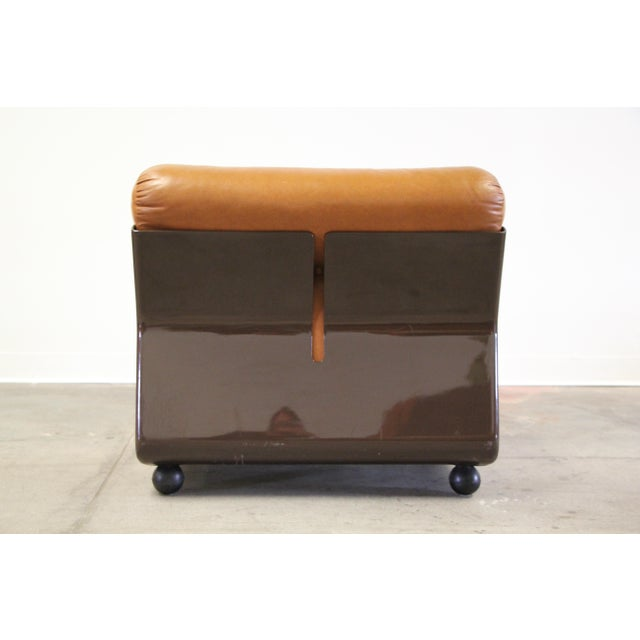 Brown 1970s Vintage Mario Bellini Amanta Modular Sofa For Sale - Image 8 of 13