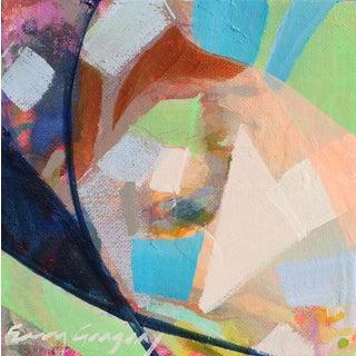 """Joie de Vivre no. 6"" Original Acrylic Painting by Erin Gregory For Sale"