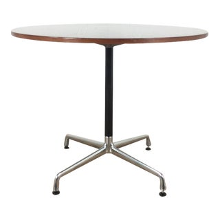Herman Miller Eames Office Laminate Wood & Metal Round Table