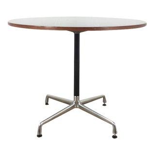 Herman Miller Eames Office Laminate Wood & Metal Round Table