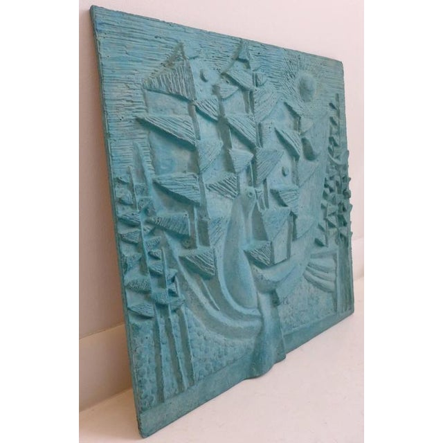 Large Design Technics Tile Relief - Image 2 of 5
