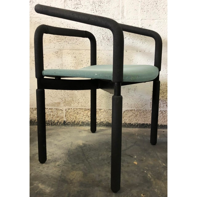 Mid-Century Modern Set of 6 Chairs by Metropolitan For Sale - Image 3 of 9