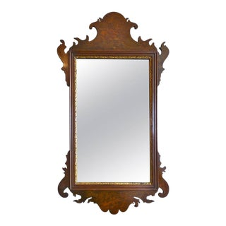 American 19th Century Federal Chippendale Mirror For Sale