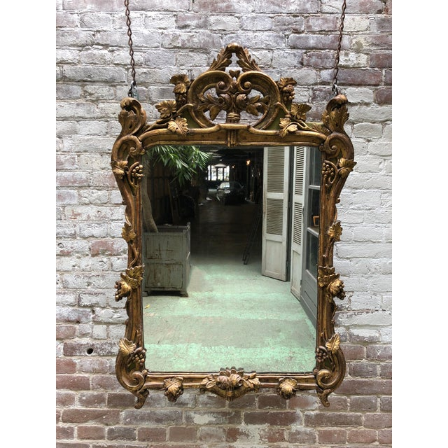 Louis XV Mirror Provenance Provence France ( Aa19) For Sale - Image 11 of 11