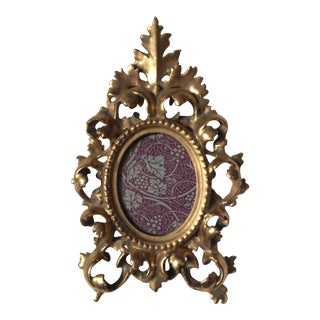 Moving Sale - Antique Florentine Gilded Frame