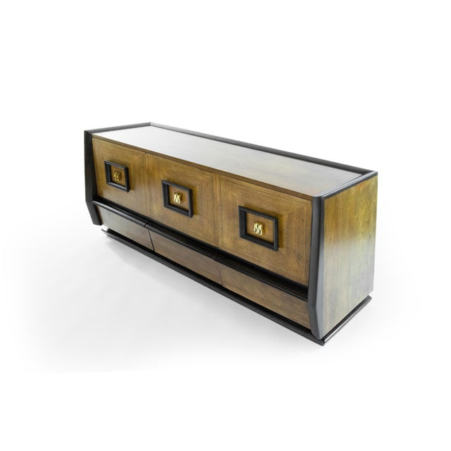 Italian Three-Door Credenza, Circa 1940s For Sale In New York - Image 6 of 12