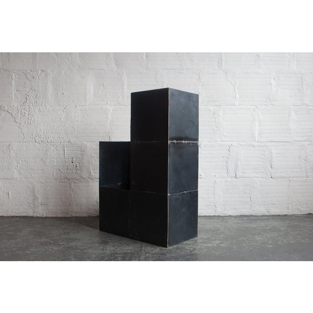 "Metal ""Cube Study"" by Spencer Staley For Sale - Image 7 of 10"