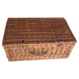 Vintage Abercrombie & Fitch Picnic Basket Set