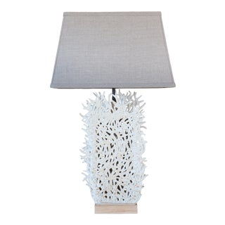 Tall Seafan Lamp by Clate Grunden For Sale