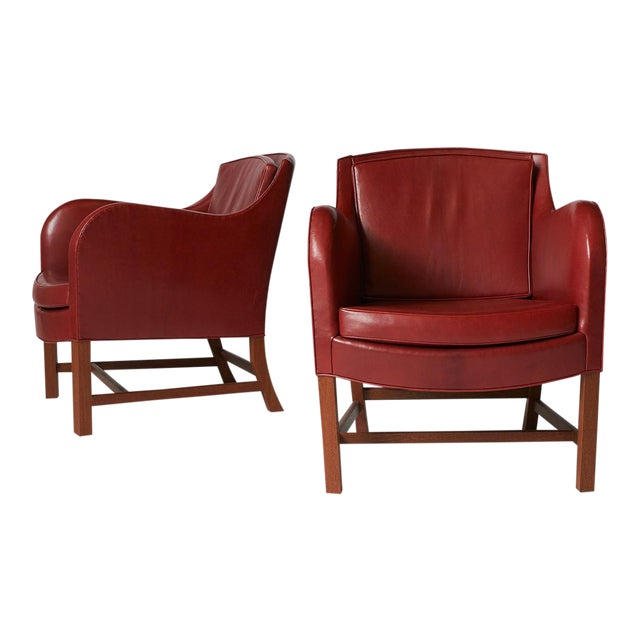 Pair of Kaare Klint Mix Chairs For Sale