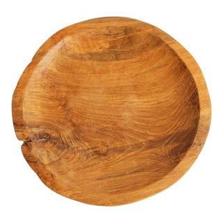 Reclaimed Teak Wood Plate For Sale