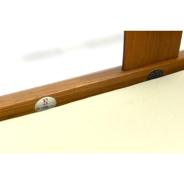 Grete Jalk Sculpted Teak Sofa - Image 6 of 6