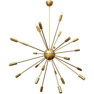 Stilnovo 24 Arm Sputnik Chandelier For Sale
