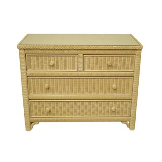Late 20th Century Lexington / Henry Link Furniture Cream Chest of Drawers Preview
