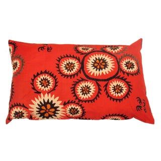 Uzbek Bridal Suzani Floral Pillow Sham
