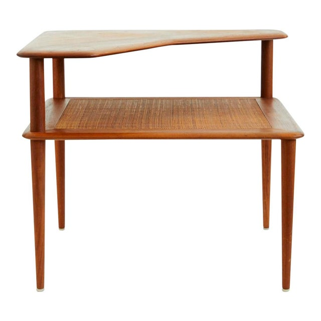 Peter Hvidt and Orla Mølgaard-Nielsen Scandinavian Modern Minerva Side Table For Sale In New York - Image 6 of 6
