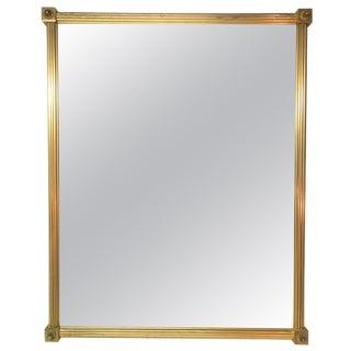Regency Style Bronze Mirror For Sale