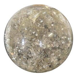 Marie-Claude De Fouquieres Fractal Resin Sphere Object For Sale