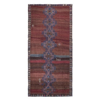 1970s Vintage Turkish Kars Rug - 7′6″ × 16′ For Sale