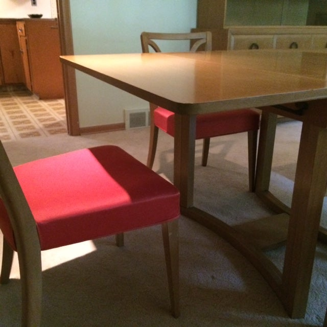 1950s Widdicomb Dining Set For Sale - Image 5 of 8