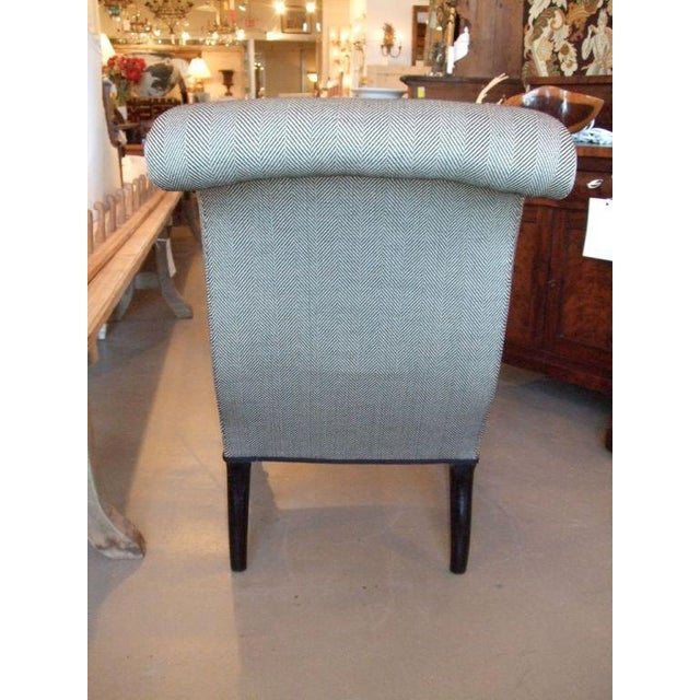 Mid 19th Century 19th Century Napoleon III Slipper Chair For Sale - Image 5 of 10