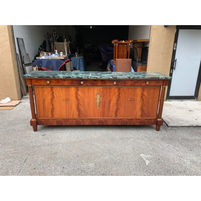 1900s French Empire Antique Sideboard For Sale - Image 13 of 13