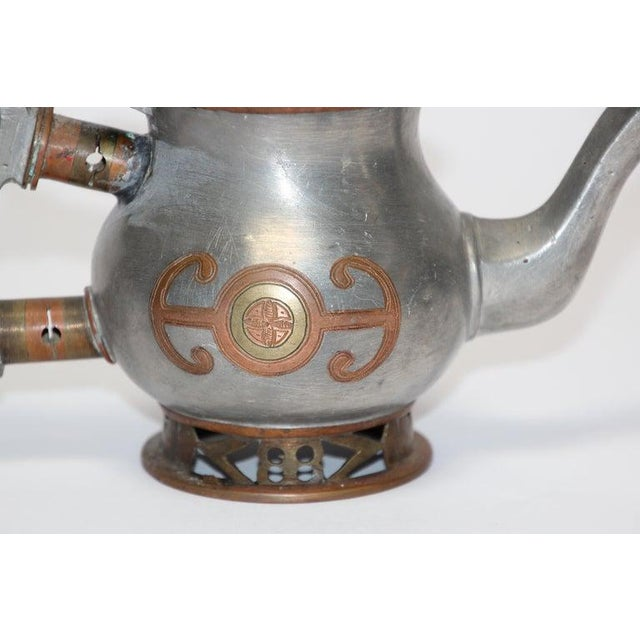 African Mid 20th Century Tuareg Teapot Mauritania Africa For Sale - Image 3 of 11