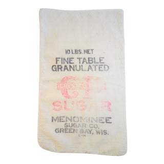 Cotton Sugar Sack Bag