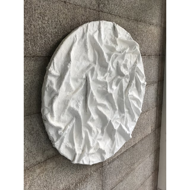 'Ridges' Minimalist Plaster Painting For Sale In San Francisco - Image 6 of 9